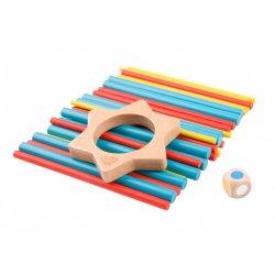 Tooky Toy ΞΥΛΙΝΕΣ ΡΑΒΔΟΙ ΙΣΟΡΡΟΠΙΑΣ (TL015)